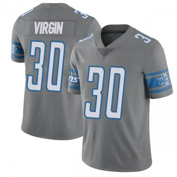 Youth Detroit Lions Dee Virgin Limited Color Rush Steel Vapor Untouchable Jersey By Nike