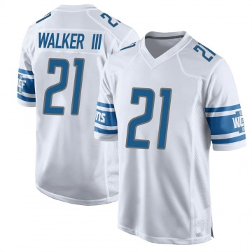 Youth Detroit Lions Tracy Walker White Game Jersey By Nike